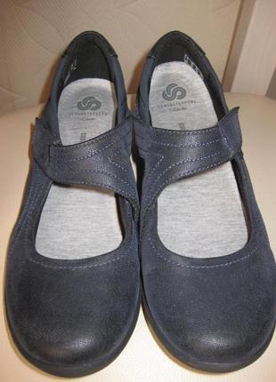 Спортивные туфли, мокасины clarks cloudsteppers.