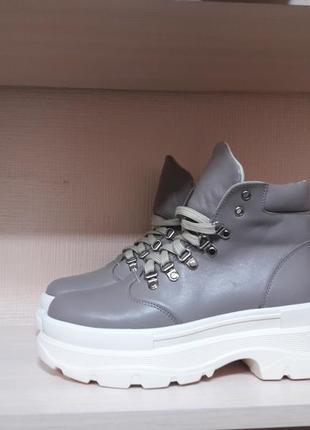 Зима ботинки натурал.кожа