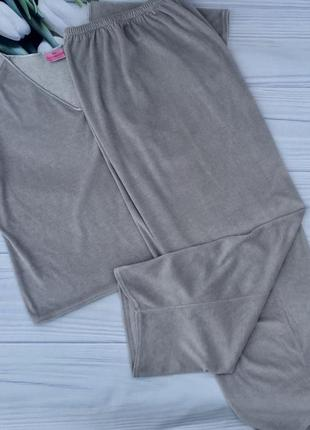 Велюровая пижама,костюм для дома