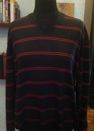 Трендовый пуловер бренда marks & spencer, р. 62-66