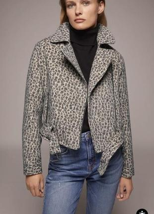 Zara куртка косуха