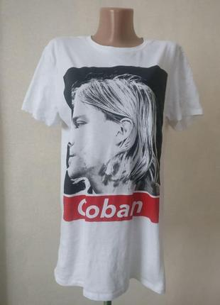 Nirvana kurt cobain 2019 гранж рок мерч футболка атрибутика неформат