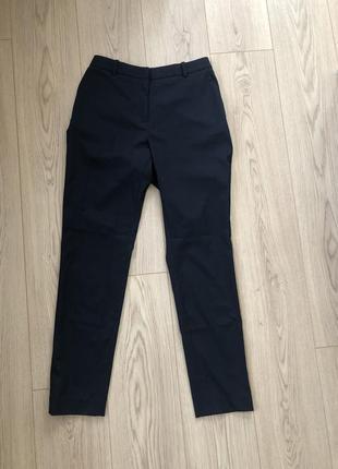 Темно синие брюки h&m