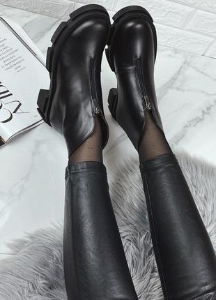 Ботинки 36-40 кожа супер удобные и стильные