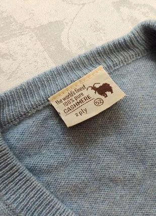 Мужская кофта 100% кашемир пуловер кашемировый