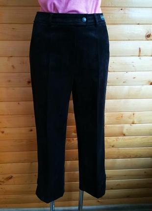 Укороченные вельветовые  брюки безупречного качества немецкого бренда eugen klein.
