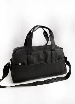 Новая качественная стильная сумка pu кожа / дорожная / спортивная / повседневная