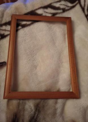 Деревянная рамка рама для картин и фото