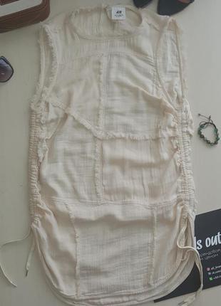 Очень легкий сарафанчик h&m studio exclusive 100% cotton