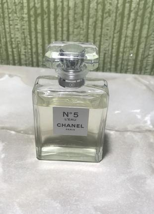 Chanel 5 l'eau духи оригинал