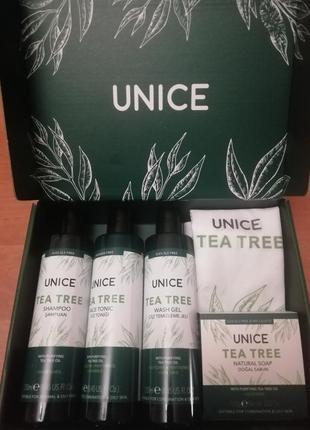 Подарунковий набiр unice tea tree