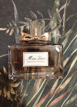 Dior духи absolutely blooming новые оригинал