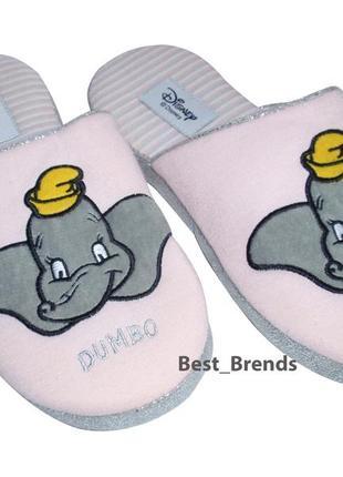 Тапочки для девочки мягкие тканевые disney р.35-36 тапки девочке