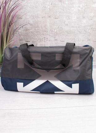 Спортивная дорожная сумка сумочка вместительная спортивна дорожня с принтом
