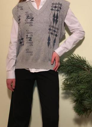 Жилетка bueckle винтаж 80's винтаж ретро тренд 2021