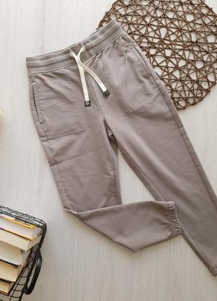 Качественные серые спортивные штаны для мальчика piazza italia италия