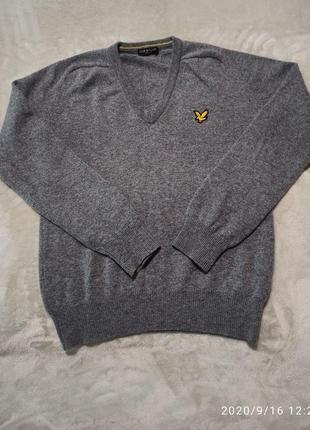 Пуловер lyle & scott vintage