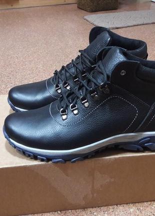 Мужские ботинки кожа р.45
