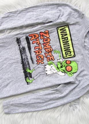 Стильный кофта свитшот nutmeg zombie halloween