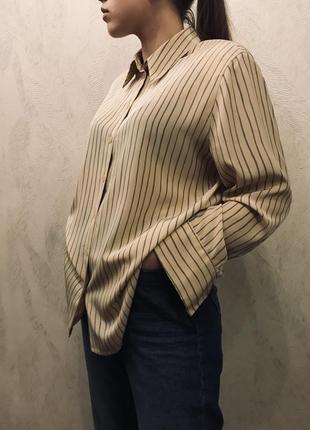 Брендовая стильная рубашка в полоску от basler😍😍😍