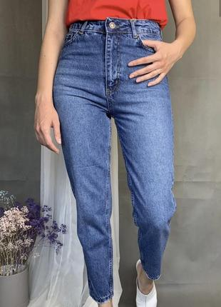Крутые джинсы мом, мам, mom