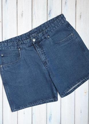 💥1+1=3 отличные джинсовые шорты высокая посадка charles voegele, размер 52 - 54