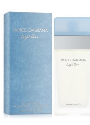 Dolce&gabbana light blue 25 мл оригинал