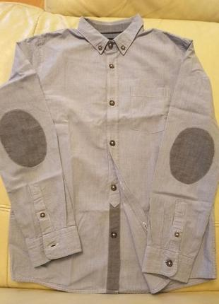 Новая рубашка zara с длинным рукавом
