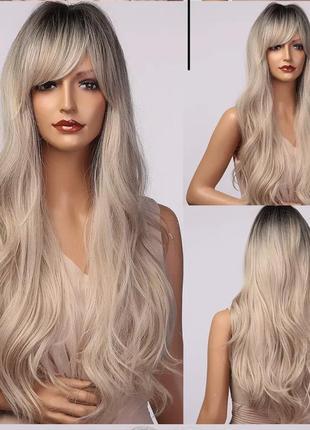 Парик/ перука блонд омбре