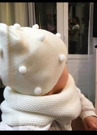 Стильная шапочка на мальчика/девочку