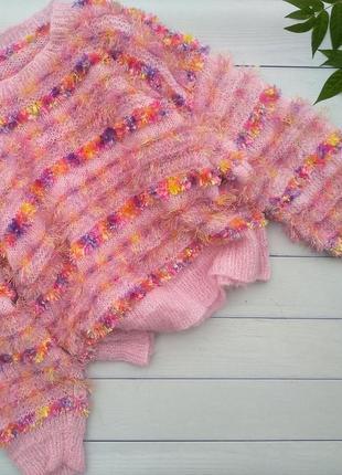 Радужный свитерок оверсайз
