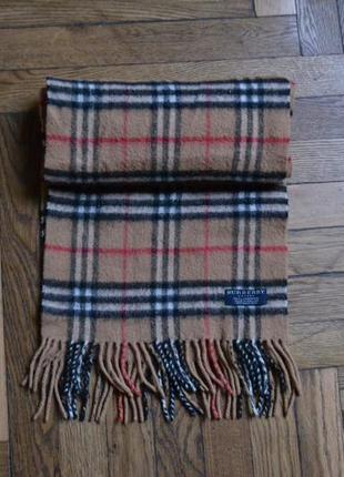 Burberry  шарф  шерстяной