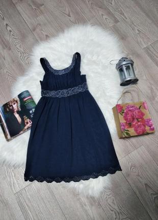Нарядное платье для девочки сарафан расшито бисером красивое