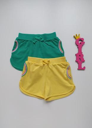 1,5-2 года, комплект трикотажных шорт miniclub.