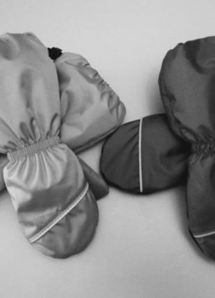 Краги детские на флисе с утеплителем ❄️ высокие❄️