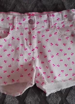 Шорты джинсовые летние для девочки 8-9лет,рост 128-134см от f&f