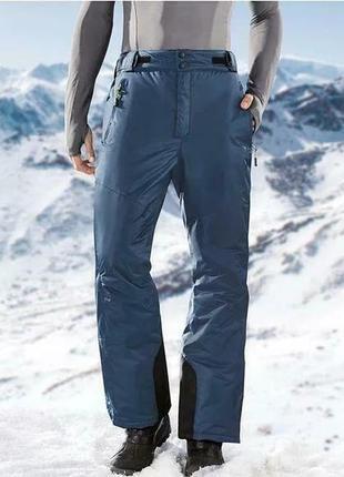 Зимние, тёплые, лыжные штаны, crivit