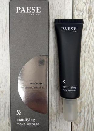 База под макияж матирующая paese, база паес, матирующая база paese