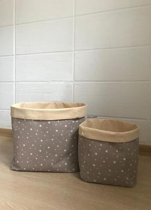 Набор корзин для декора