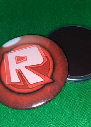 Круглый магнит мега популярная игра roblox