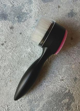 Щеточка для умывания, щетка для лица sephora - dynamic duo face brush