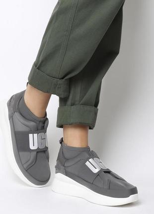 Кроссовки высокие стильные, кроссовки -носки ugg(оригинал)39-40р