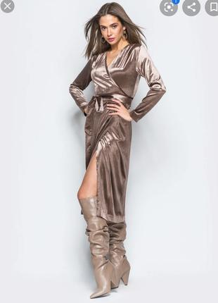 Сукня велюрова, розмір s