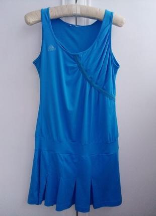 Брендовое спортивное платье