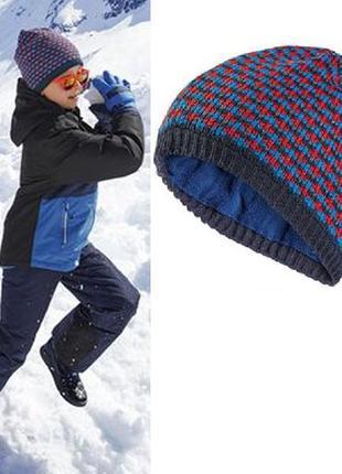 Теплая шапка на флисовой подкладке, 122-140, 6-10 лет, crivit, германия