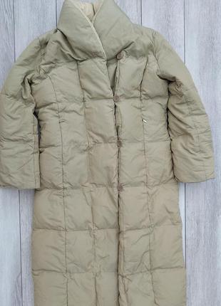 Женское пуховое пальто zara
