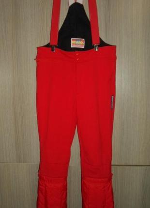 Полукомбинезон термо штаны лыжные размер 50r пояс 90см