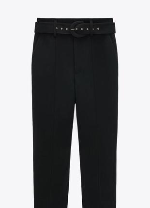 🖤 трендовые штаны zara с поясом