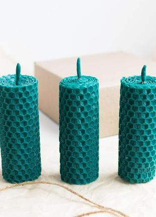 Набір натуральних свічок, 3 шт. / набор натуральных свечей