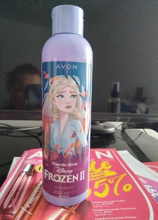 Дитячий шампунь avon disney frozen «